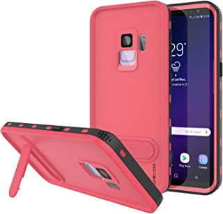 Galaxy S8 Waterproof Case, Punkcase [KickStud Series] [Slim Fit] [IP68 Certified] [Shockproof] [Snowproof] Armor Cover W/Built-in Kickstand + Screen Protector for Samsung Galaxy S8 [Pink]