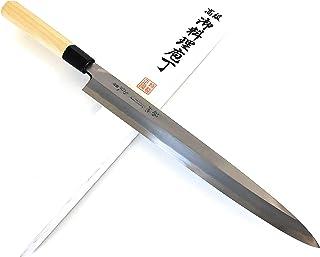有次 包丁 別打 柳刃 300 mm 青鋼2 築地 ARITSUGU 柄 名入れ 鞘付