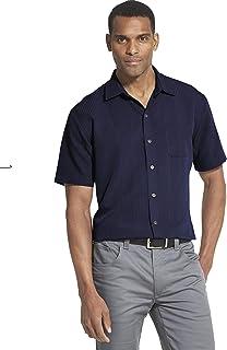 Van Heusen Men's Big and Tall Air Short Sleeve Button...