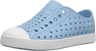 Native Kids Jefferson Water Proof Shoes, Sky Blue/Shell White, 3 Medium US Little Kid