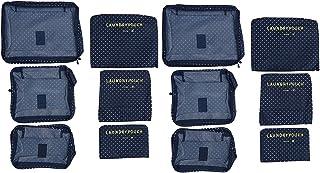 Cabilock Travel Duffel Bag 12 Pcs Travel المنظم للماء تخزين الأمتعة السفر تخزين الحقائب الملابس حقيبة السفر أساسيات الحقائب