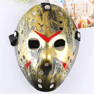 Jason Mask, Halloween Costume Cosplay Party Mask Prop, Masquerade Mask Adult Size