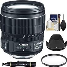 Canon EF-S 15-85mm f/3.5-5.6 is USM Zoom Lens + UV Filter + Lens Hood + Cleaning Kit for EOS Digital SLR Cameras