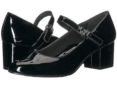Soft Style Dustie (Black Patent) Women