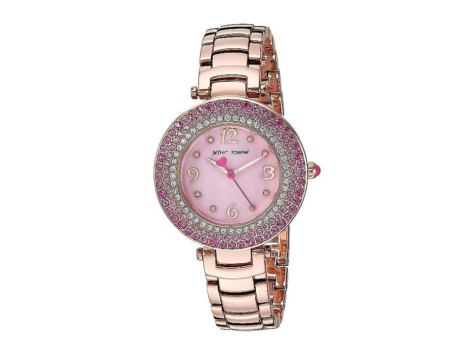 Betsey Johnson - Betsey Johnson 37BJ00699-01BX Pink Crystals
