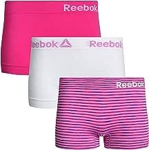 Reebok Women's Seamless Stretch Performance Boyshort Panties (3 Pack)