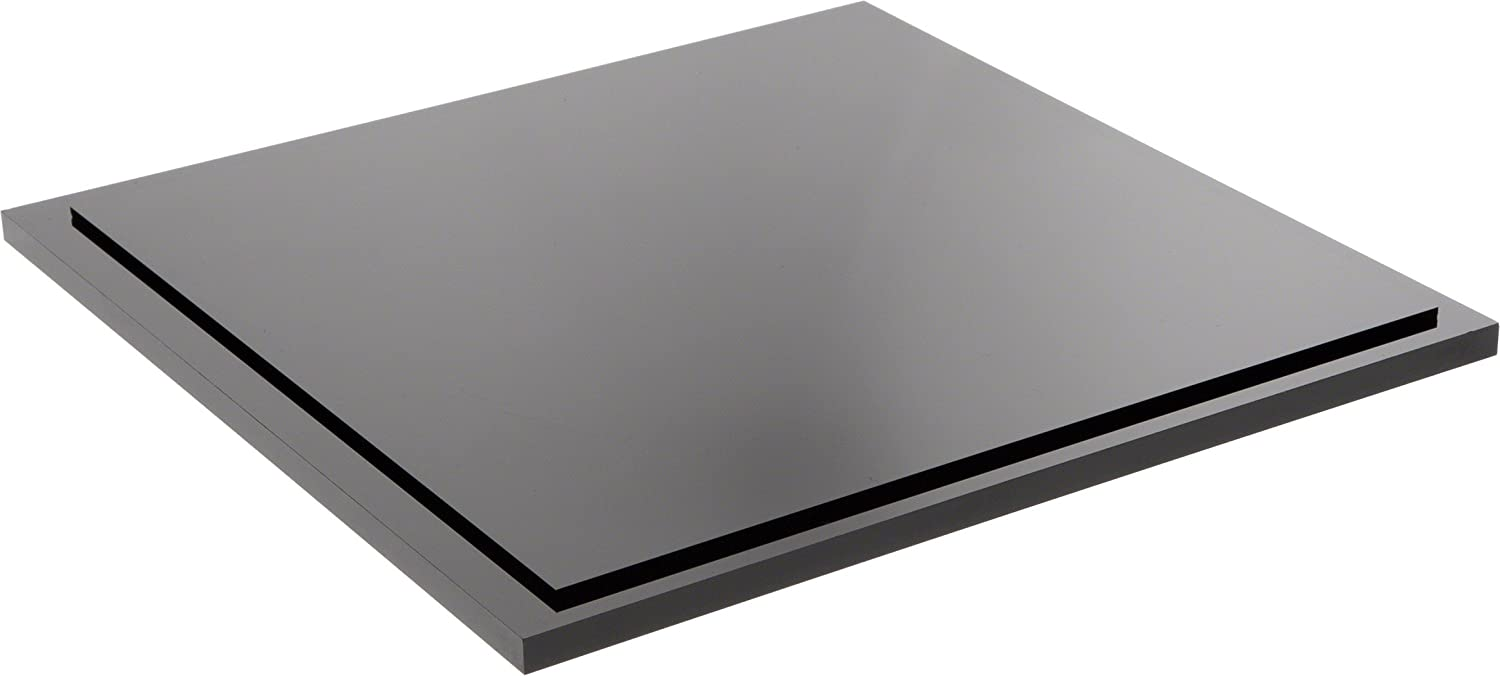 Plymor Black Acrylic Base Large discharge sale Detroit Mall for Display Square Case Clear