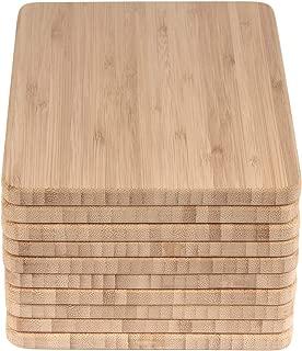 BambooMN Brand - Bulk Wholesale Premium Bamboo Cheese Board - 7.9