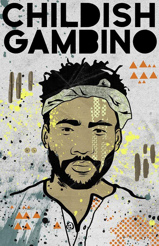 Childish Gambino Poster Hip Many popular brands Hop Modern Donald Max 43% OFF Design Art Pop