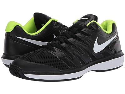 Nike Air Zoom Prestige (Black/White/Volt) Men
