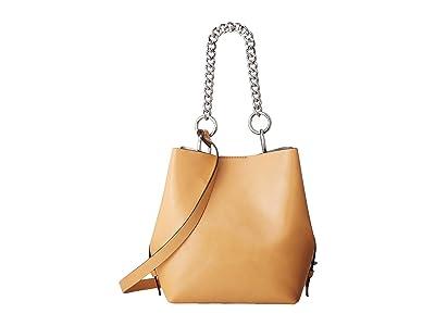 Rebecca Minkoff Kate Medium Convertible Bucket (Honey) Handbags