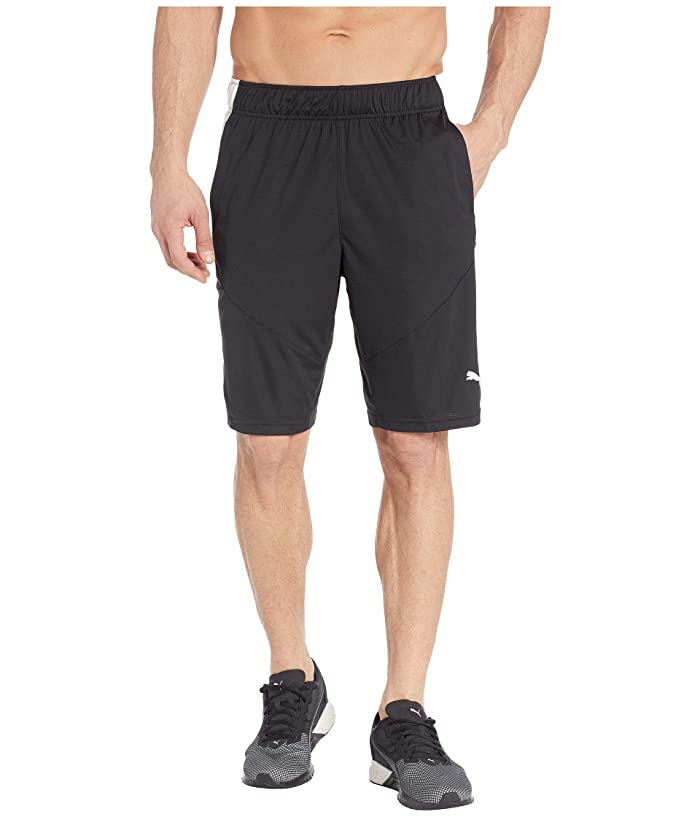 PUMA Energy Knit 10 Shorts (PUMA Black) Men