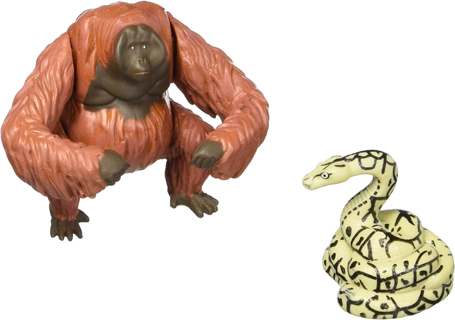 Disney Jungle Book King Louie and Kaa Action Figures by Disney