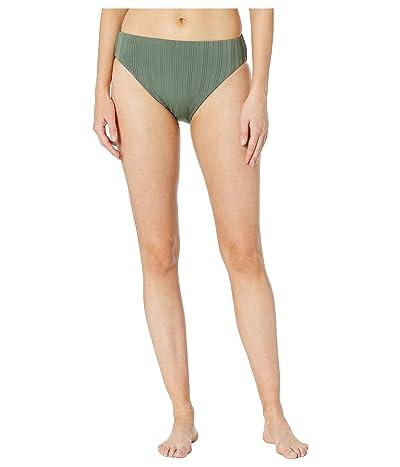 Vince Camuto Ripple Effect Reversible High Leg High-Waist Bottoms (Iguana) Women