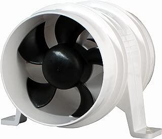 Attwood 1749-4 Quiet Blower Water Resistant (White, 4-Inch) (Renewed)