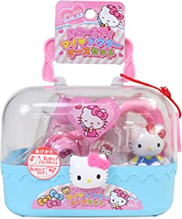 Hello Kitty My Doctor Set with Various Equipment and Case (Japan Import)