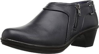 حذاء Devo يصل للكاحل للنساء من Easy Street، أزرق داكن، 6. 5 N US