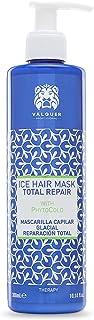 Valquer Profesional Ice Hair Mask. Máscara Capilar Reparación Total. Sin sal sin parabenos y sin sulfatos. Cabellos dañad...