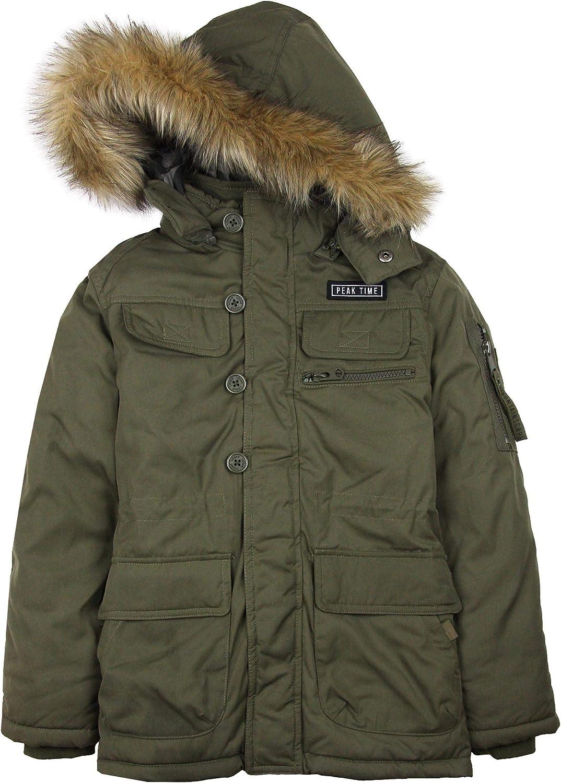 Losan Junior Boy's Hooded Parka Coat, Sizes 8-16