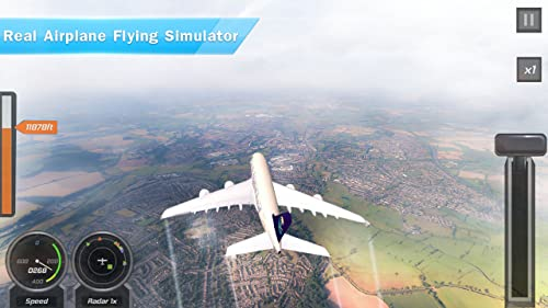 Avion réel Flight Simulator 2019