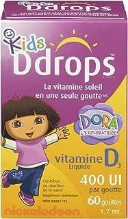 Ddrops 幼儿液体维生素D 60滴 1.7ml