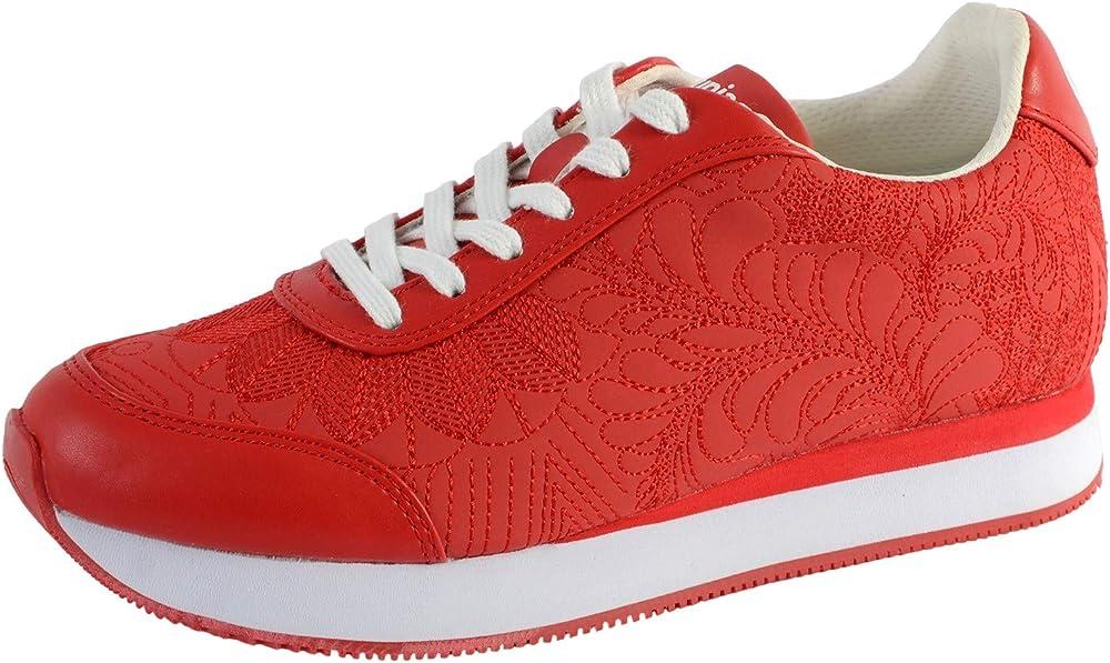 Desigual shoes galaxy lottie, scarpe da ginnastica per donna,sneakers,in materiale sintetico 20SSKP34306137