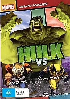 Hulk vs Thor / Hulk vs Wolverine | Marvel Animated Film | NON-USA Format | PAL | Region 4 Import - Australia