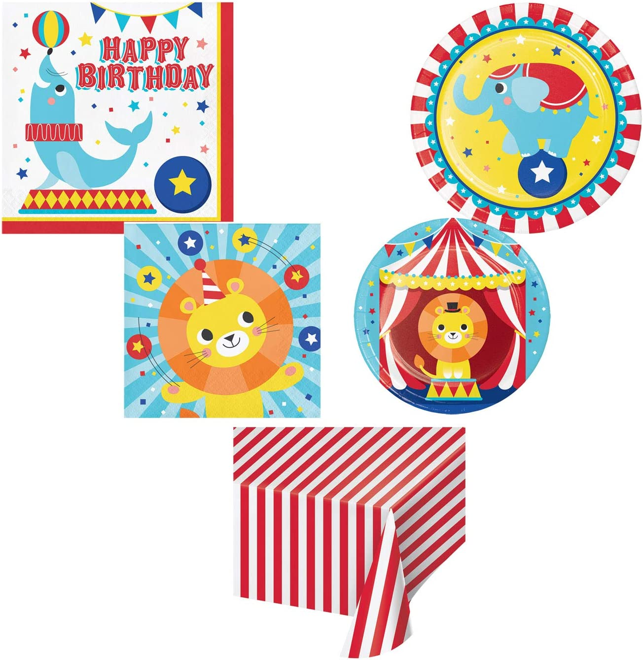 Circus Animals Party by Creative Converting