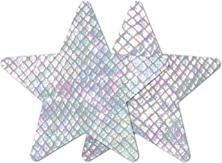 Nippies Style White Snake Star Waterproof Self Adhesive Nipple Cover Pasties