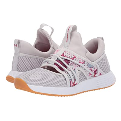 Under Armour UA Breathe Sola + (Gray Flux/Gray Flux/Impulse Pink) Women