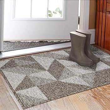 Wear-Resistant Porch Mat Bedside Floor Mat Fawn Crystal Velvet Mat Kitchen Door Anti-Slip Door Mat Kitchen Carpet, XIONGHAIZI Floor Mat Bathroom Absorbent Floor Mat