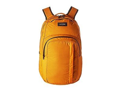 Dakine 33 L Campus Large Backpack (Orange) Backpack Bags