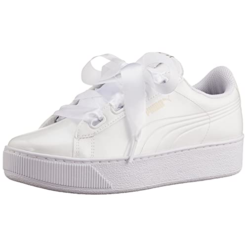 dbe3f57b5ccb Puma Women s Vikky Platform Ribbon P Low-Top Sneakers