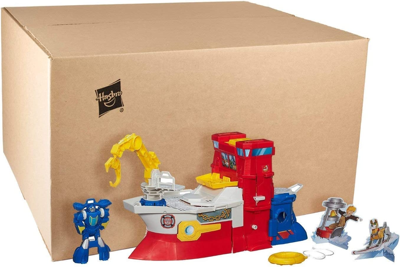 Playskool Transformers Rescue Bots Series High Tide Robot Action Figure