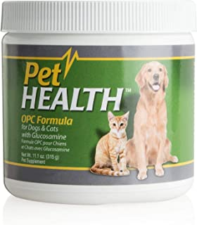 Pet Health OPC Formula with Glucosamine for Dogs & Cats, Beef Flavor, Maintain Healthy Cholesterol Levels, Healthy Circula...