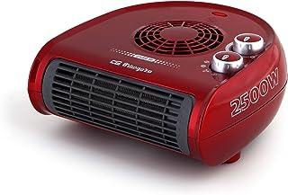 Orbegozo FH 5033 - Calefactor, termostato regulable, 2 niveles de potencia, función ventilador aire frío, calor instantáne...