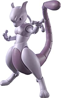 Bandai S.H. Figuarts Pokemon Mewtwo Arts Remix 140 mm ABS Resin PVC Painted Action Figure