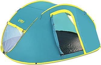 خيمة بيست واي - بافيلو كول مونت تتسع 4 اشخاص مقاس 2.10 متر × 2.40 متر × 1.00 متر (طبقة واحدة 190T من البوليستر المطلي بالب...