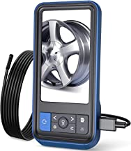 Teslong Inspection Camera, 8MM Dual Lens 4.5 inches IPS Screen Endoscope-Borescope with..