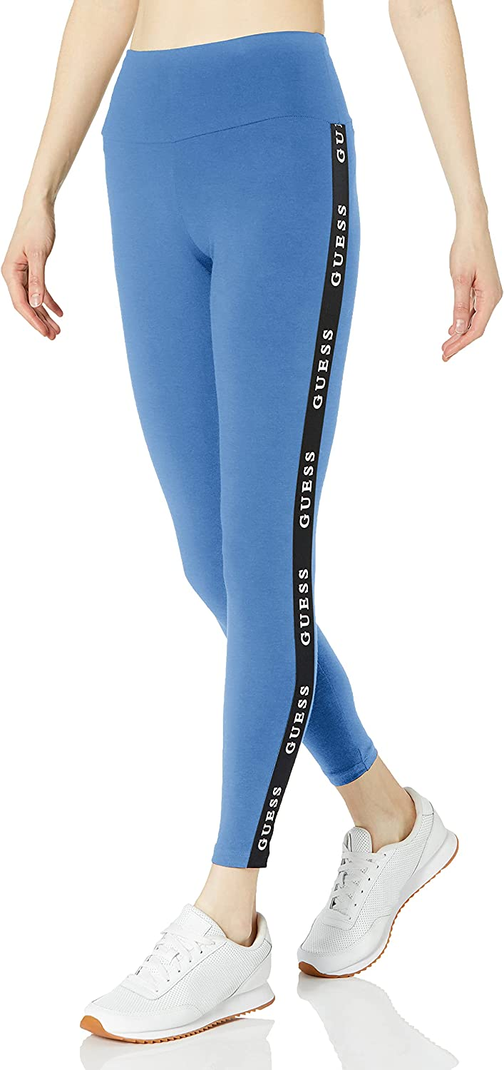 GUESS Women's Award Active Stretch Leggings Jersey Tapping Logo Challenge the lowest price of Japan ☆