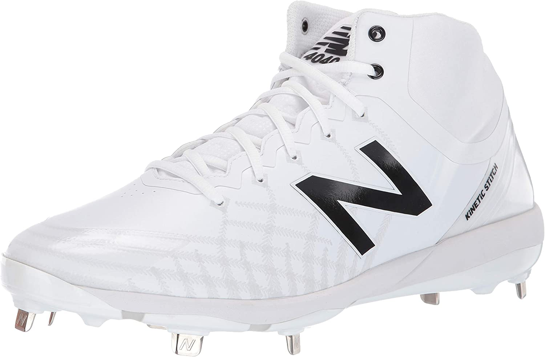 Spring new work New Balance Max 63% OFF Men's 4040 V5 Shoe Mid-Cut Metal Baseball