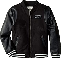 Faux Suede Track Jacket (Big Kids)