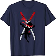 cwc Chad Wild ninja swords t shirt for clay kids gift