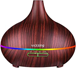 VicTsing Essential Oil Diffuser, 300ml Oil Diffuser with 4 Timer, Aromatherapy Diffuser with Auto Shut-Off Function, Cool ...