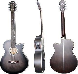 MegArya Semi Acoustic Guitar BKS G40EQ,