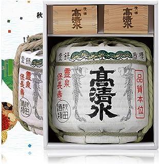 秋田酒類製造 菰樽セット [ 日本酒 16 日本 秋田県 1800ml 瓶 ]