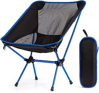 Rolife アウトドアチェア キャンプチェア 折りたたみ椅子 コンパクト 超軽量 持ち運び便利 組立簡単 耐荷重120kg キャンプ用品 登山用 お釣り 収納やすい