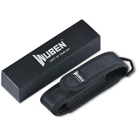 WUBEN Flashlight Holster Nylon Flashlight Torch Pouch Holster Holder Cover Case
