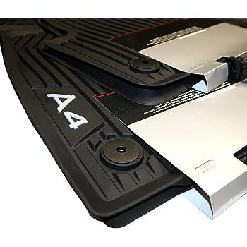 Auto Gummi Fußmatten Audi A3  Set 4 teilig  Schwarz  Art.2