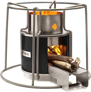 Affirm Global Wood Burning EZY Stove, Black